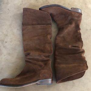 EUC Frye slouch boots